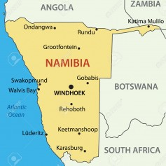 30607413-Republic-of-Namibia-vector-map-Stock-Vector